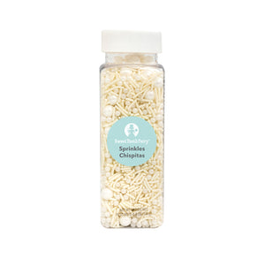 White Sprinkle Mix by Sweet Tooth Fairy | www.bakerspartyshop.com