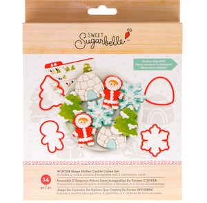 Sweet Sugarbelle Winter Cookie Cutter Kit | www.bakerspartyshop.com