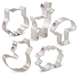 Woodland Animals Cookie Cutter Set | www.bakerspartyshop.com