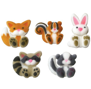 Woodland Animals Sugar Toppers | www.bakerspartyshop.com