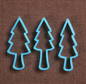 Designer Forest Trees Cookie Cutter Set | www.bakerspartyshop.com