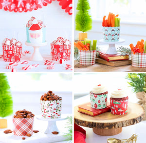Christmas Baking Cups Bundle Set | www.bakerspartyshop.com