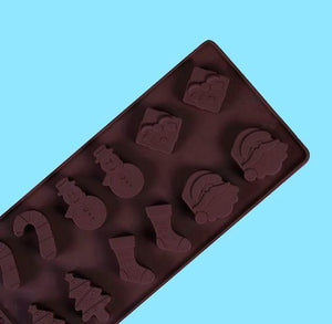 Christmas Candy Mold: Silicone | www.bakerspartyshop.com