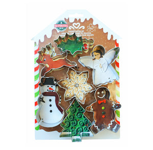 Christmas Cookie Cutter Set: Traditional | www.bakerspartyshop.com