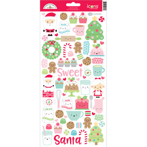 Doodlebug Christmas Stickers | www.bakerspartyshop.com