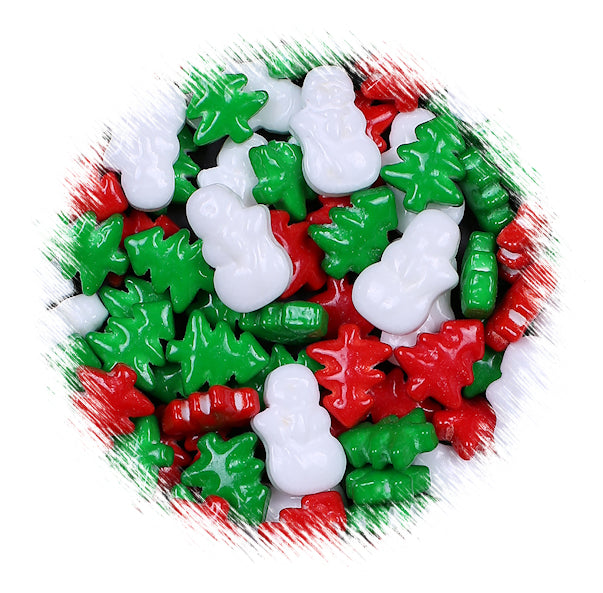 Christmas Candy.Christmas Candy Toppings Frosty S Forest