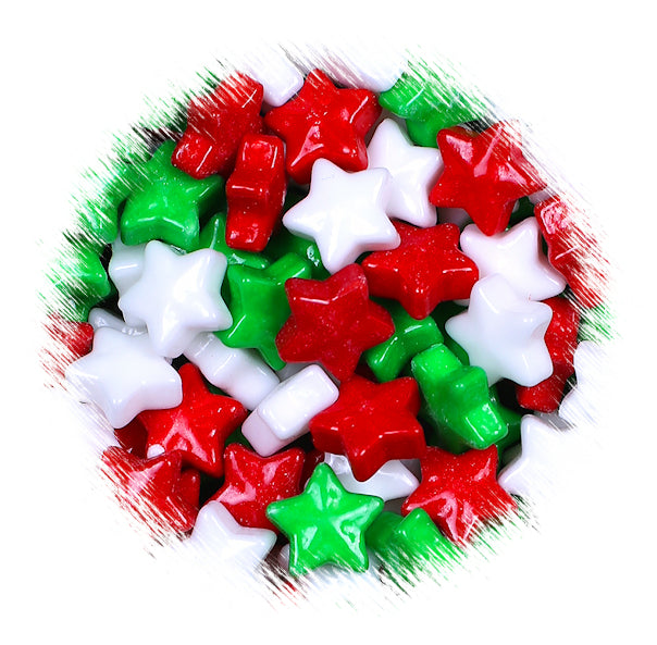 Christmas Candies.Christmas Candy Toppings Star