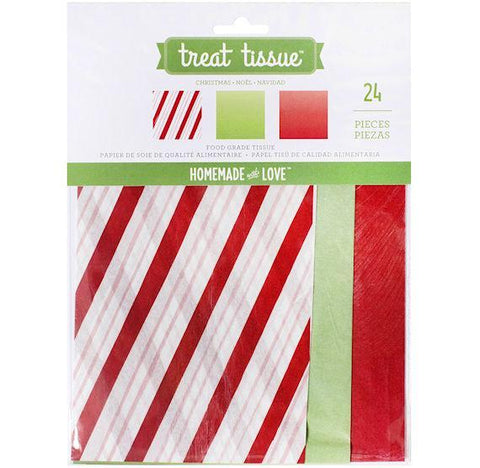 Christmas Treat Tissue Paper | www.bakerspartyshop.com