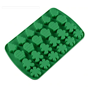Silicone Christmas Mold | www.bakerspartyshop.com