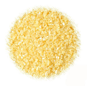 Shimmer Yellow Sparkling Sugar | www.bakerspartyshop.com