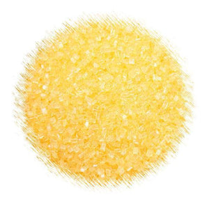 Yellow Sparkling Sugar | www.bakerspartyshop.com