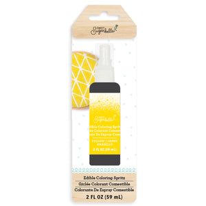 Sweet Sugarbelle Edible Coloring Spritz: Yellow | www.bakerspartyshop.com
