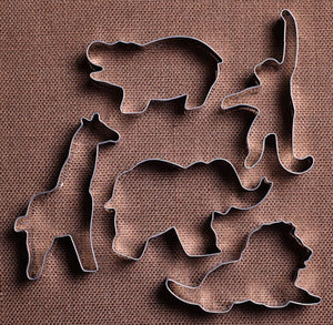 Zoo Animals Cookie Cutter Set | www.bakerspartyshop.com
