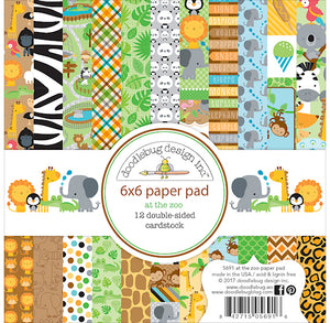 At the Zoo Paper Pad | www.bakerspartyshop.com