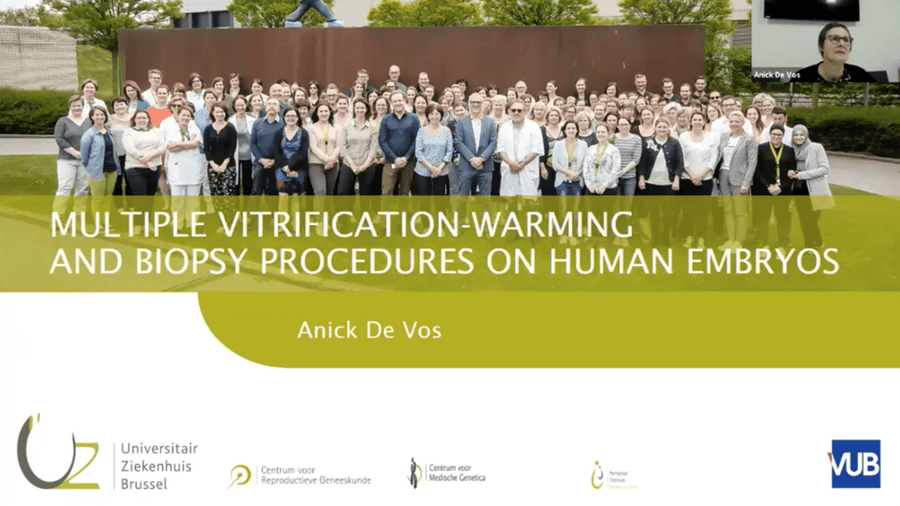 Multiple vitrification-warming and biopsy procedures on human Embryos