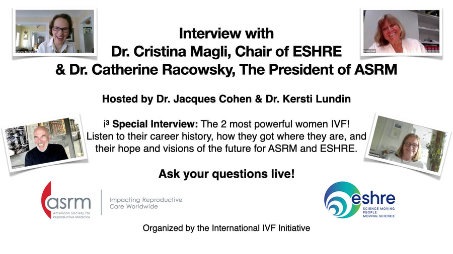 Session 19: Interview with Dr. Catherine Racowsky, The President of ASRM & Dr. Cristina Magli, Chair of ESHRE