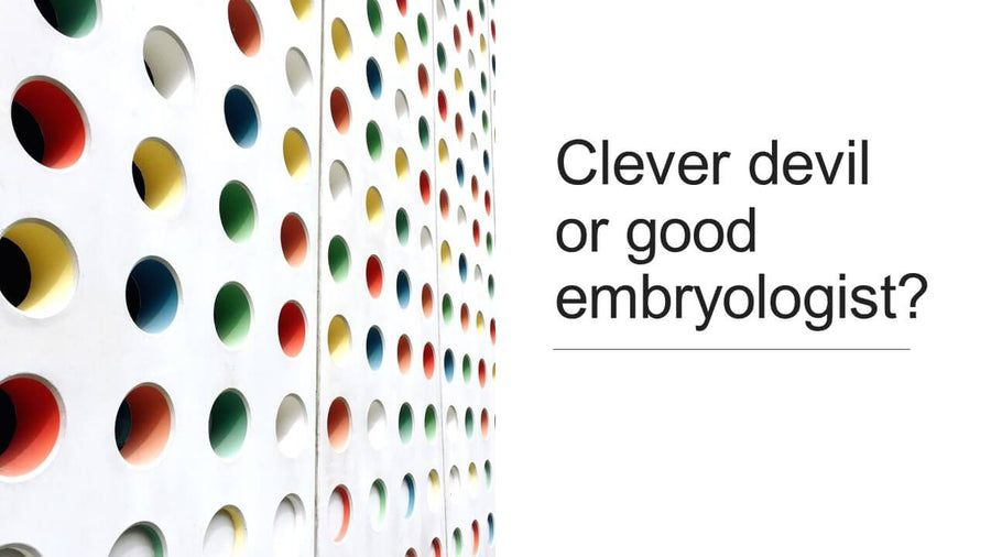 Clever Devil or Good Embryologist? Ethics for the Embryologist