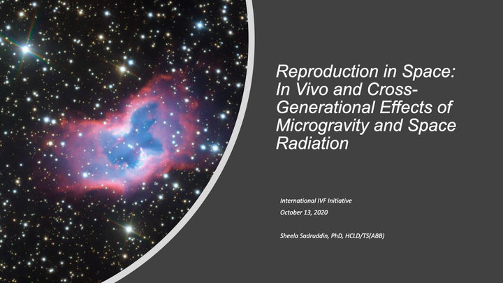 Reproduction in Space: In Vivo and Cross-Generational Effects of Microgravity and Space Radiation