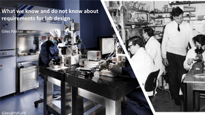 What we know and do not know about requirements for lab design
