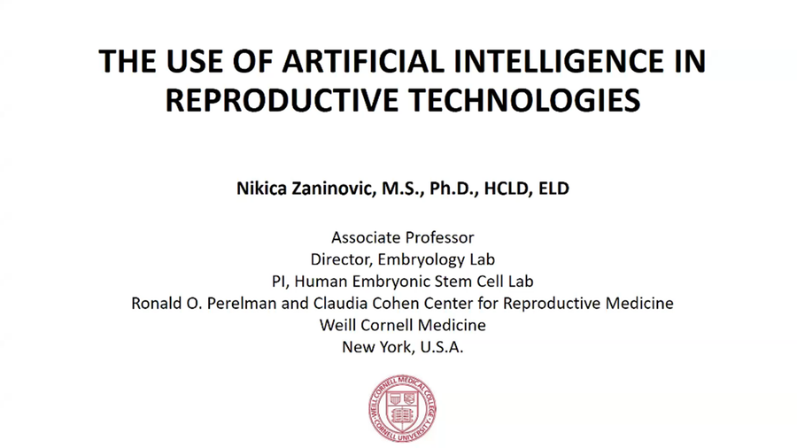 The Use of Artificial Intelligence in Reproductive Technologies
