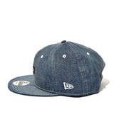 NEW ERA ARTA 9FIFTY DENIM BLACK BOX LOGO