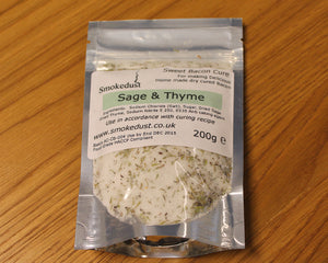 Sweet Sage & Thyme Bacon Cure 200g