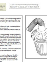 Load image into Gallery viewer, Garden Cold Smoker - Plans