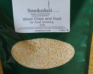 Ash Smoking Wood Chips