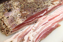 Load image into Gallery viewer, Sweet Juniper Pepper Bacon Cure - For making bacon 150g