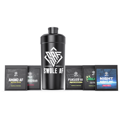 Free Sample Pack with Shaker