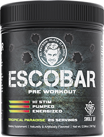 Escobar - DMHA Powered Pre Workout Tropical Paradise