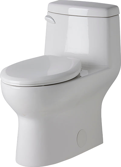 Gerber 21-019 Avalanche One-Piece Skirted Toilet