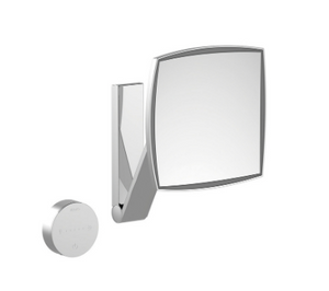 Clearance: Keuco 17613139052 Cosmetic Mirror in Brushed Black Chrome