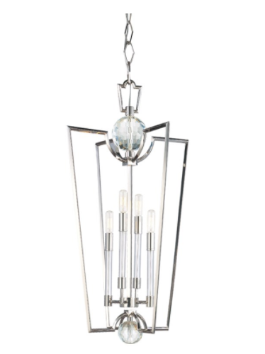 Hudson Valley 3017-PN Waterloo 4 Light Pendant