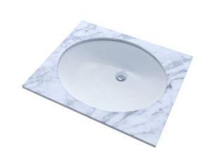 "Toto LT569 17"" x 14"" Undermount Bathroom Sink"