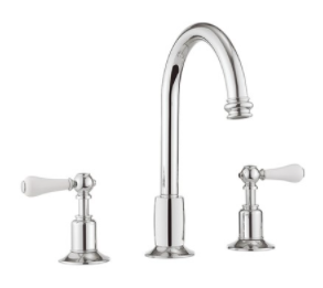 Crosswater Belgravia US-BL135DP Widespread Bathroom Faucet with Tall Spout