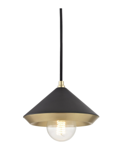 Mitzi H139701S Marnie Small 1 Light Pendant