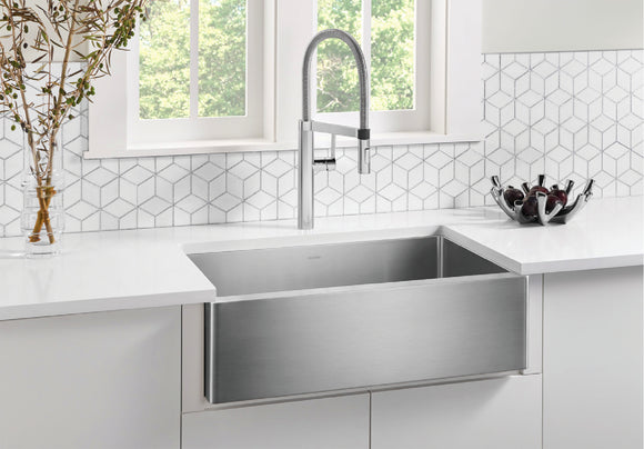 Blanco 522213 Stainless Steel Apron Front Kitchen Sink