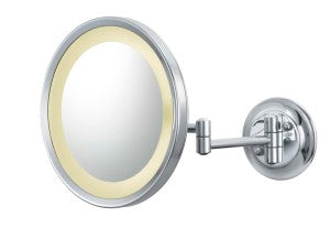 Clearance Showroom Display: Aptations 944-35-85-HW LED Makeup Mirror, Polished Nickel