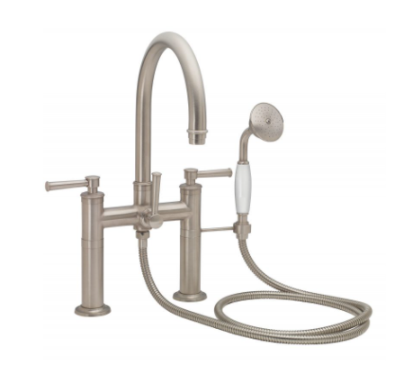 California Faucets 1308 Traditional Deck Mounted Tub Filler