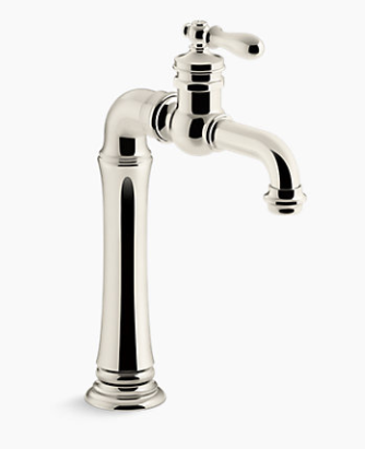 Clearance: Kohler K99268-SN Artifacts Gentleman's Bar Faucet