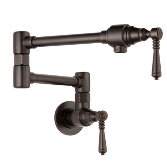 Brizo 62810LF Traditional Wall Mount Pot Filler