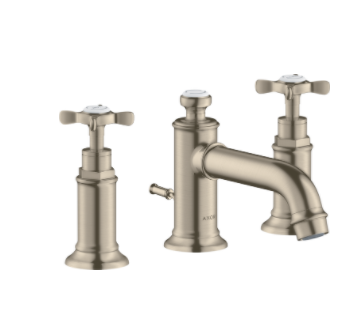 Axor 16536 Montreux Widespread Cross Handle Bathroom Faucet