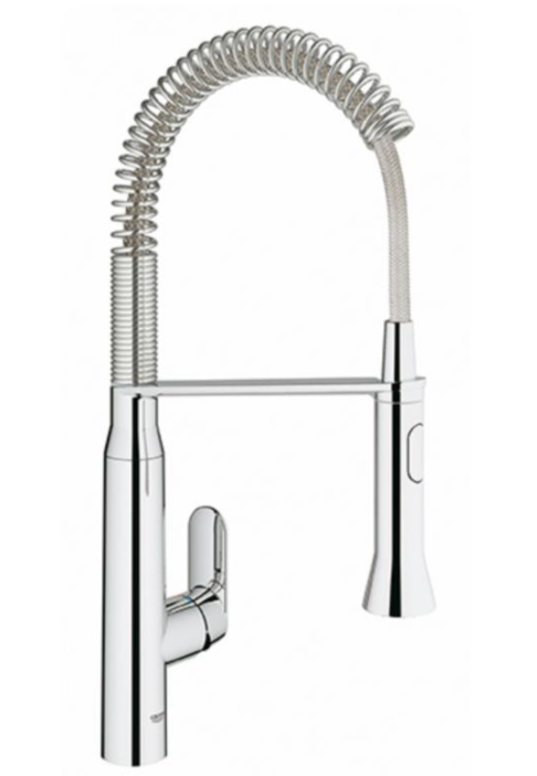 *Clearance* Grohe 30.314.000 Touchless Foot Control Kitchen Faucet, Chrome