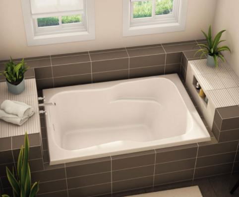 Aker SB-3660 Drop-In 60″ X 36″ X 21 1/2″ Bathtub