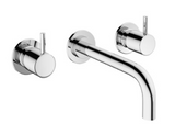 Crosswater MPRO US-PRO130WNC-2 Wall Mount Widespread Bathroom Faucet