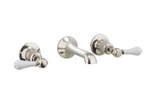 Crosswater Belgravia US-BL131W Wall Mount Two Handle Bathroom Faucet