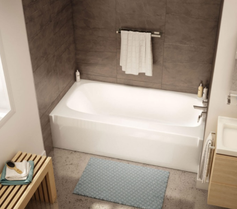 Aker TO-3060 Alcove 60″ X 30 1/2″ X 16 3/4″ Bathtub
