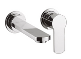 Crosswater Wisp US-WP120WN Single Lever Wall Mount Bathroom Faucet