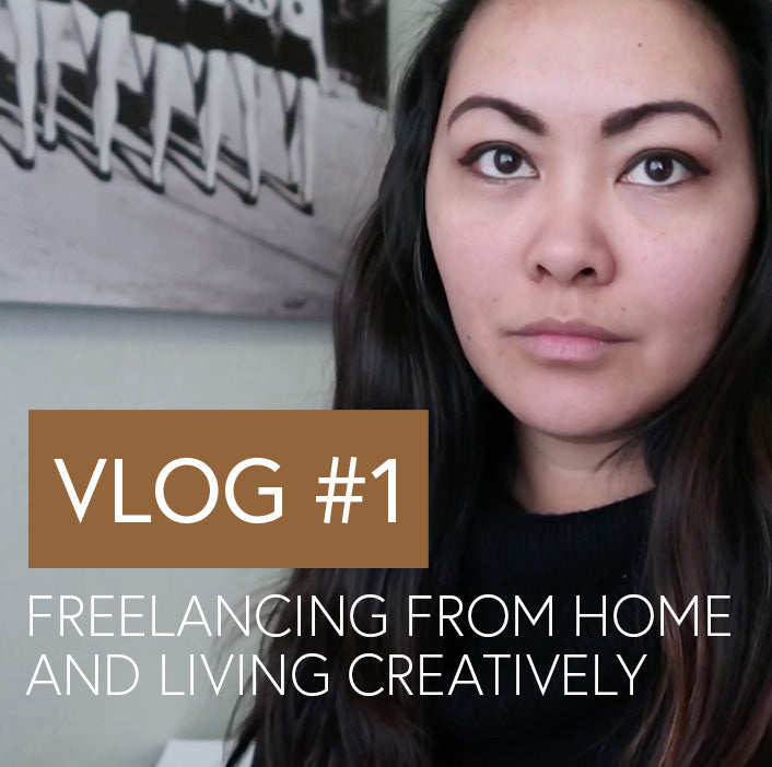 Vlog #1 Freelancing from home & living creatively